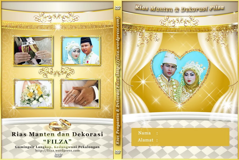 Contoh Cover Cd Wedding 2